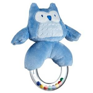 Kids Concept Unisex First toys and baby toys Blue Rattle Ring Blue