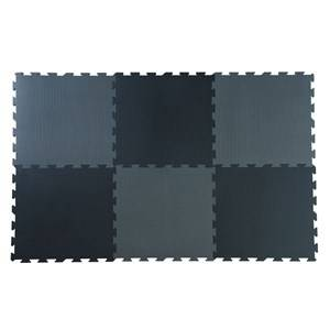 Basson Baby Unisex Norway Assort First toys and baby toys Black Black/Grey Play Mat 6 pcs