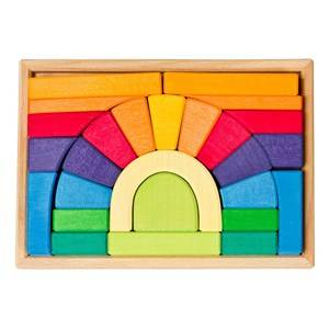 Nic Unisex First toys and baby toys Bridge Puzzle In Frame