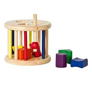 Nic Unisex First toys and baby toys Wooden Sort & Roll Toy