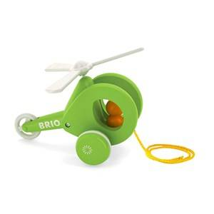 Brio Unisex First toys and baby toys Green Pull Along Helicopter