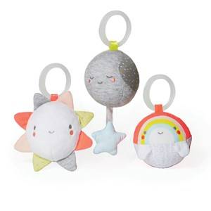 Skip Hop Unisex First toys and baby toys Multi Silver Lining Cloud Ball Trio