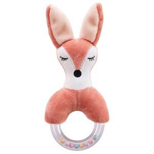 Kids Concept Unisex First toys and baby toys Brown Fox Character Teething Rattle