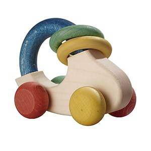 Nic Unisex First toys and baby toys Organic Wooden Car
