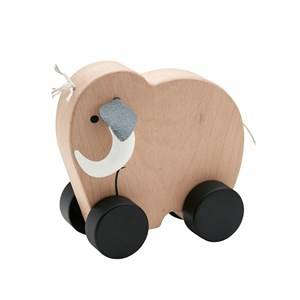 Kids Concept Unisex First toys and baby toys Beige Neo Mammoth Push Along