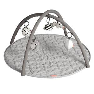 Done by Deer Unisex Norway Assort First toys and baby toys Grey Activity Play Mat Grey
