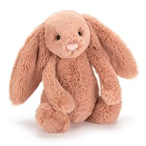 Jellycat Unisex First toys and baby toys Pink Bashful Apricot Bunny Medium