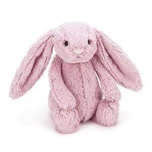 Jellycat Unisex First toys and baby toys Pink Bashful Tulip Pink Bunny Small