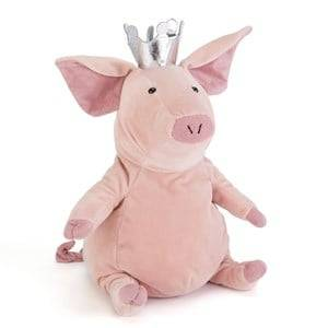 Jellycat Unisex First toys and baby toys Pink Petronella The Pig Princess Small