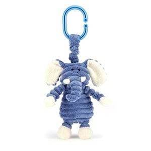 Jellycat Unisex First toys and baby toys Blue Cordy Roy Elephant JItter