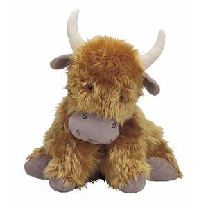 Jellycat Unisex First toys and baby toys Brown Truffles Highland Cow Medium