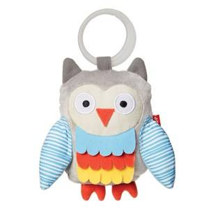 Skip Hop Unisex First toys and baby toys Grey Treetop Friends Wise Owl Stroller Toy