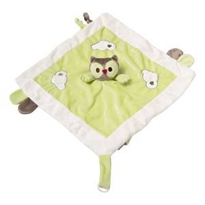 Kids Concept Unisex First toys and baby toys Green Baby Blanket Helge Green