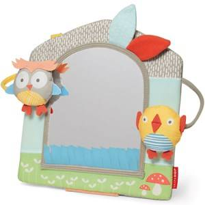 Skip Hop Unisex Norway Assort First toys and baby toys Grey Treetop Friends Activity Mirror Grey/Pastel