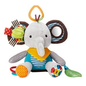 Skip Hop Unisex Norway Assort First toys and baby toys Multi Bandana Buddies Activity Animal Elephant