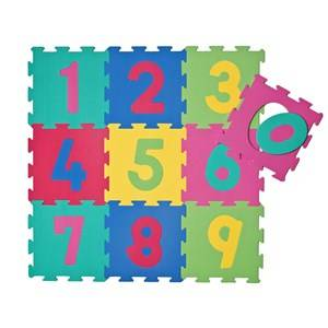 Basson Baby Unisex Norway Assort First toys and baby toys Multi Numbers Play Mat