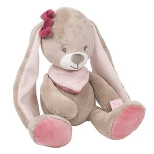 Nattou Unisex Norway Assort First toys and baby toys Pink Cuddly Nina The Bunny