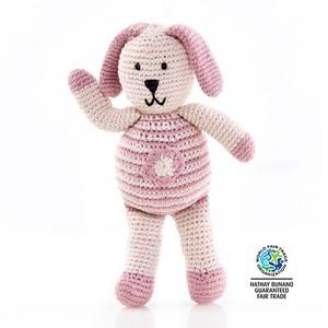 Pebble Unisex First toys and baby toys Pink Pebble Pink Bunny