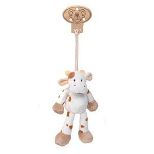 Teddykompaniet Unisex Norway Assort First toys and baby toys Multi Diinglisar Clip Cow