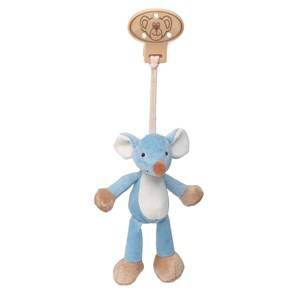 Teddykompaniet Unisex Norway Assort First toys and baby toys Blue Diinglisar Clip Mouse