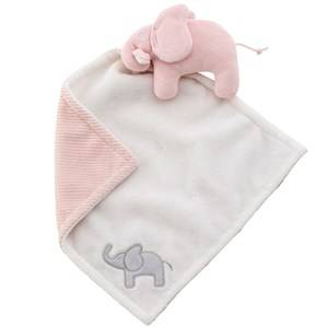 Elephant Girls First toys and baby toys Pink Cuddle Blanket Elephant Pink