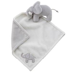 Elephant Unisex First toys and baby toys Grey Cuddle Blanket Elephant Grey