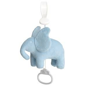 Elephant Boys First toys and baby toys Blue Pull String Accordion Elephant Blue