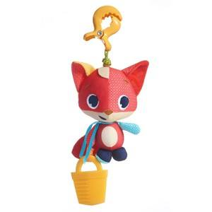 Tiny Love Unisex Norway Assort First toys and baby toys Red Meadow Days Fox Christopher Jittering Toy
