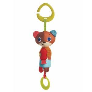 Tiny Love Unisex Norway Assort First toys and baby toys Brown Meadow Days Bear Isaac Wind Chimee