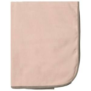 Ver de Terre Unisex First toys and baby toys Pink Doubleface Fleece Blanket Mahogany Rose/Mocca