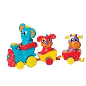Playgro Unisex First toys and baby toys White NO--Fun Friends Choo Choo Train