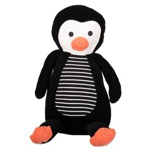 Geggamoja Unisex Commission First toys and baby toys Black Penguin Edvin Black