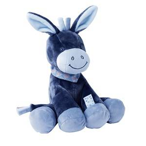 Nattou Unisex Norway Assort First toys and baby toys Blue Gosedjur Alex Åsna 33cm