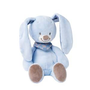 Nattou Unisex Norway Assort First toys and baby toys Blue Gosedjur Bibou Kanin 33cm
