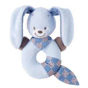 Nattou Unisex Norway Assort First toys and baby toys Blue Ringskallra Bibou Kanin