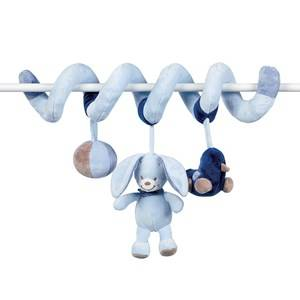 Nattou Unisex Norway Assort First toys and baby toys Blue Spiral till spjälsäng Alex & Bibou