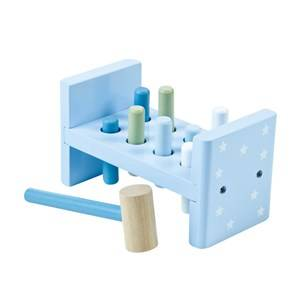 Kids Concept Unisex First toys and baby toys Blue Pumpkin Bunk Board Blue