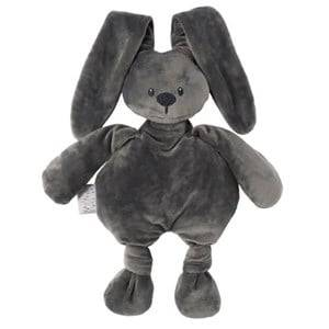 Nattou Unisex Norway Assort First toys and baby toys Grey Lapidou Soft Toy Dark Grey