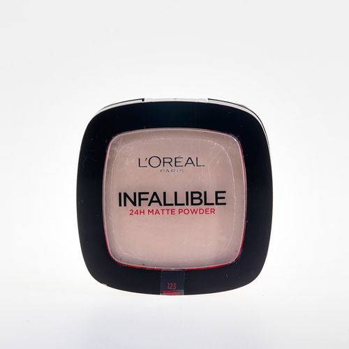 LOreal Infallible 24H Matte Powder 123 Warm Vanilla 9g