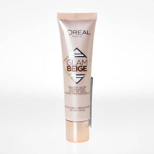 LOreal Paris Glam Beige Healthy Glow Fl?ssige Foundation Nr. 40 - Medium Dark