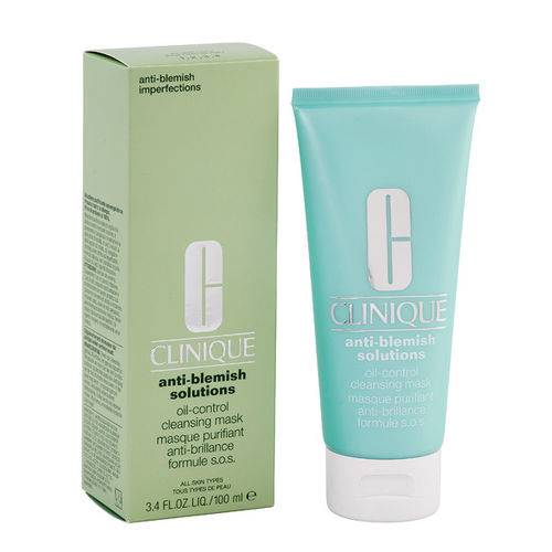 Clinique Anti-Blemish Solutions Oil-Control Cleansing Mask, 100 ml