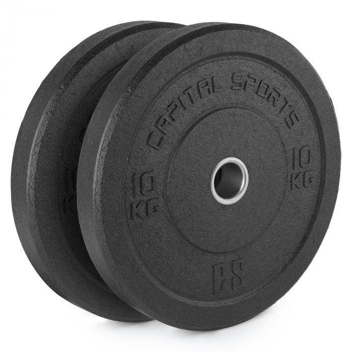 CAPITAL SPORTS Renit Hi Temp levypainot 50,4 mm alumiinisisus kumia 2 x 10 kg