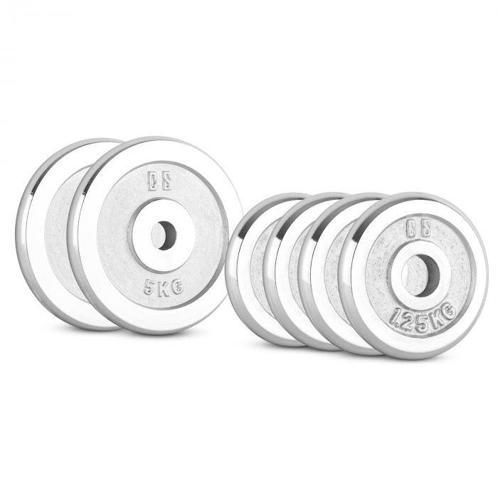 Image of Capital_sports CP 15 kg levypainosetti 4 x 1,25 kg + 2 x 5 kg 30 mm