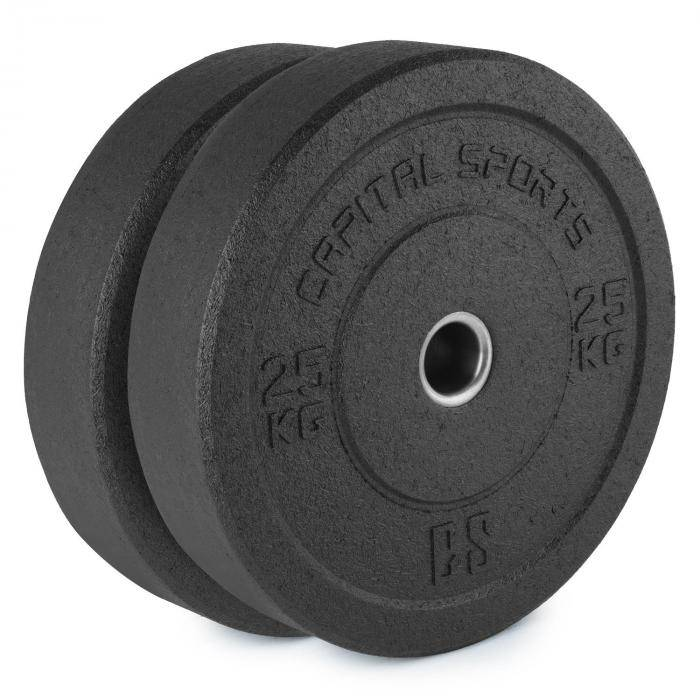 CAPITAL SPORTS Renit Hi Temp levypainot 50,4 mm alumiinisisus kumia 2 x 25 kg