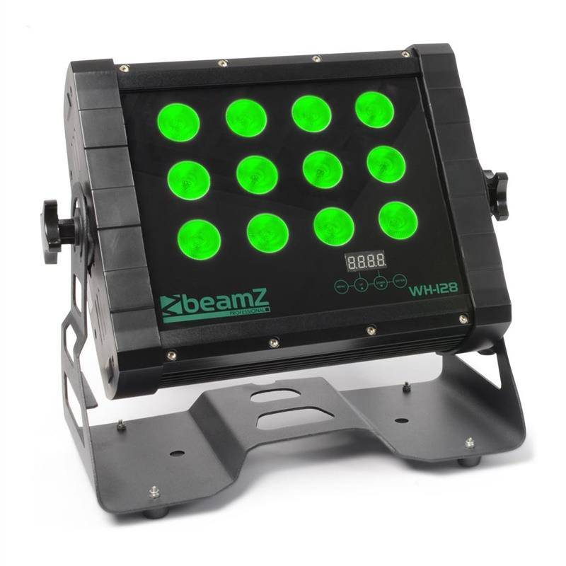 beamZ WH128 wall washer 12 x 8 W quad-LED-valot IP65 DMX