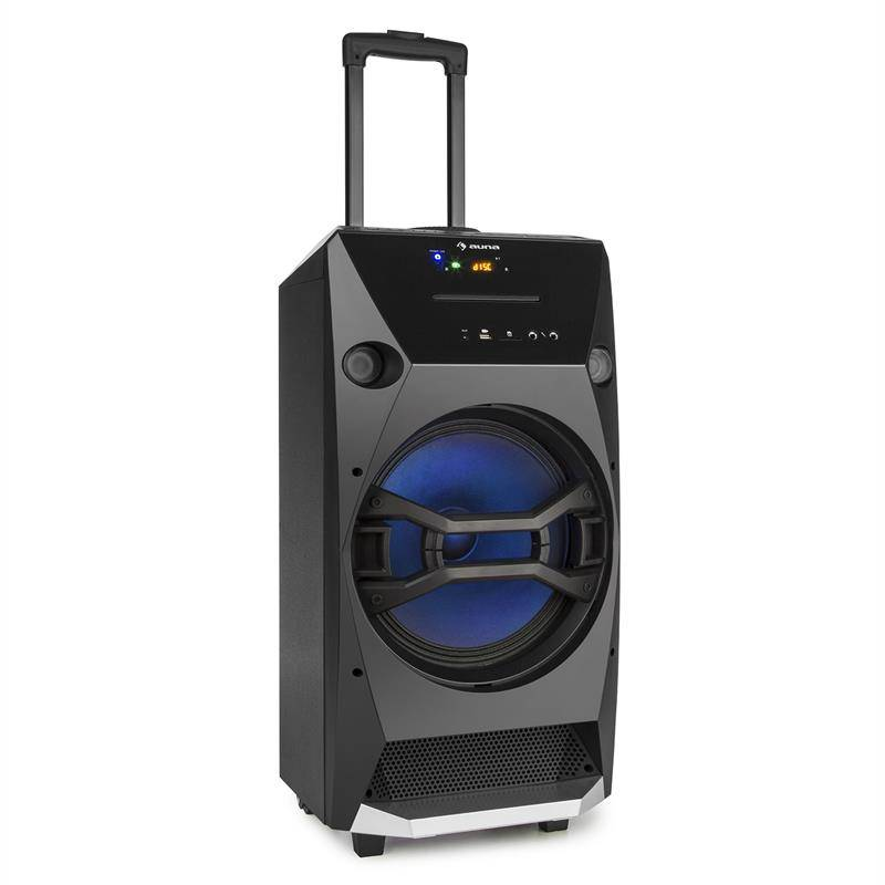 auna Brooklyn Beat kannettava party-kaiutin 100 W RMS bluetooth USB SD CD FM