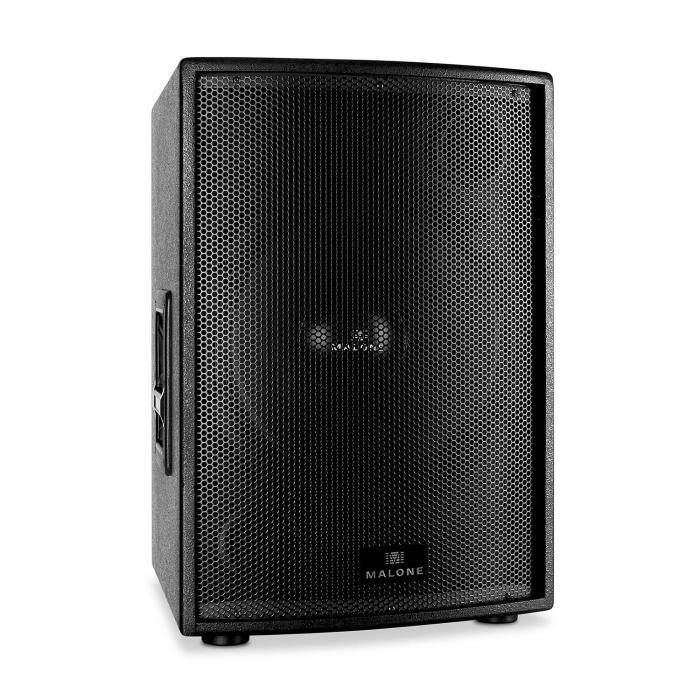 """Malone Passiivinen PA-subwoofer 38cm (15"""") Malone 1000W RMS -teho"""