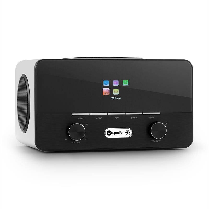 auna Connect 150 WH 2.1 internetradio Spotify Connect WLAN USB DAB+ FM RDS AUX