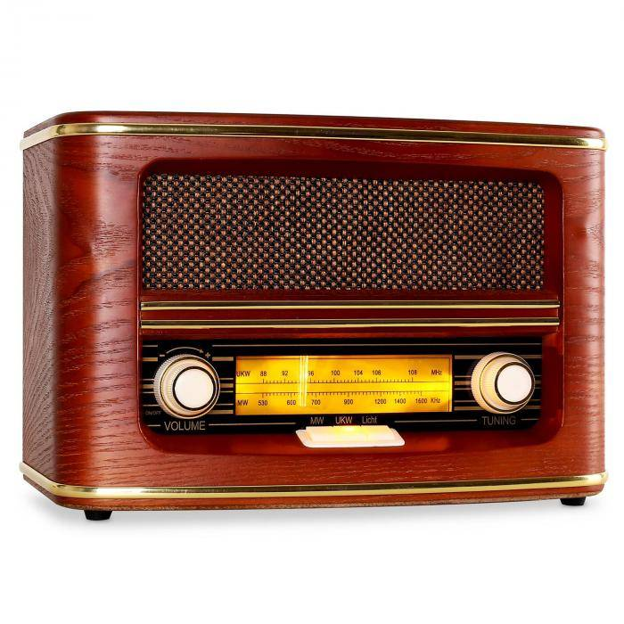 Auna Belle Epoque 1905 retro-radio FM MW