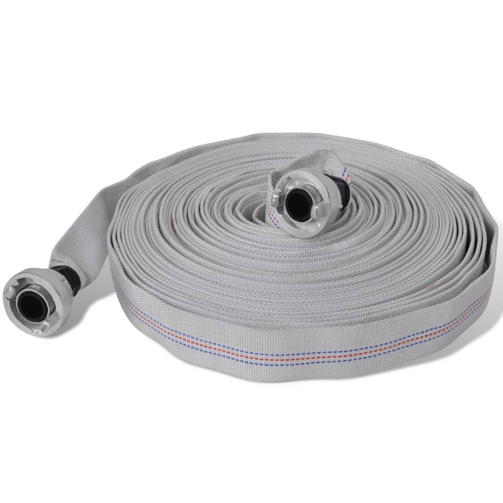 vidaXL 141109 Fire Hose Flat 30 m with D-Storz Couplings 1 Inch - Untranslated